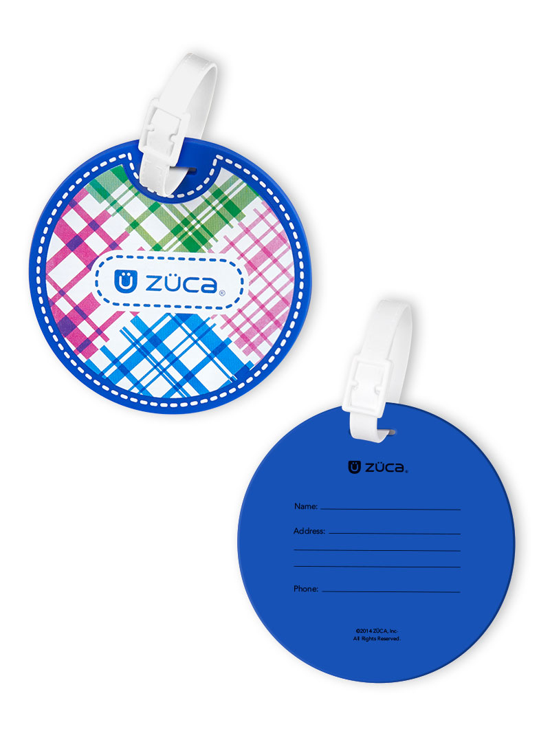 Zuca Set Berry Patch Name Tag Amp Insert With Frame