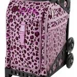 Pink Leopard Black Frame