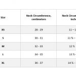 choker size chart